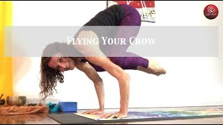 Flying your Crow - Suitable for more advanced practitioners