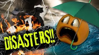 Annoying Orange - Disasters Supercut