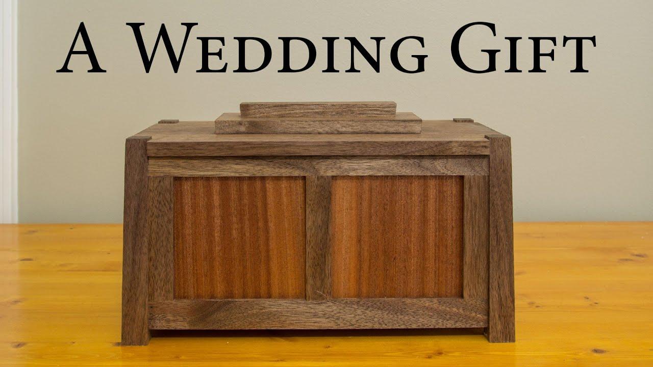 A Wedding Gift: Walnut and Sapele Box   Jays Custom Creations