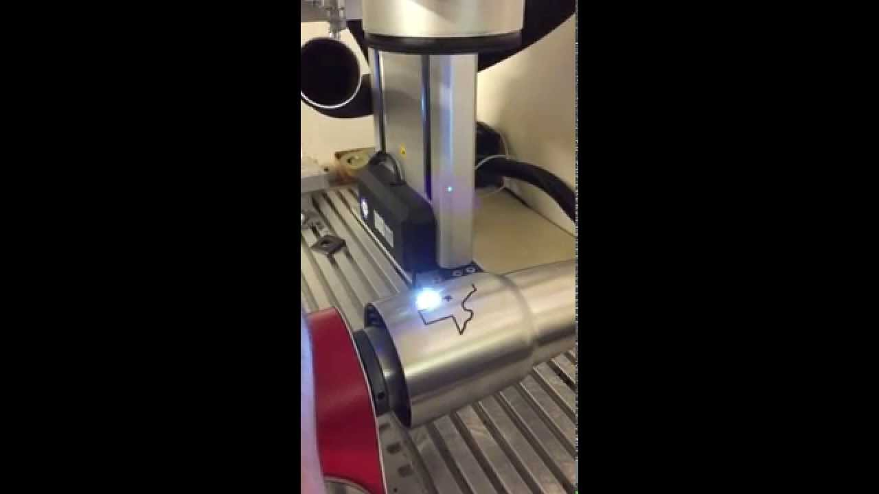 Laser Engraving By Intercontinental Machine Youtube