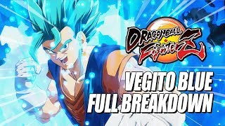 VEGITO BLUE - Full Breakdown: Crazy Damage, Combos & Supers (DragonBall FighterZ)