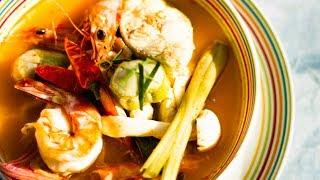 健康新煮流~泰式酸辣鱸魚二吃:鱸魚湯、魚排