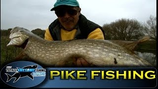 Pike fishing  with twitched sprat - Graeme Pullen - Series 2 - Episode 1