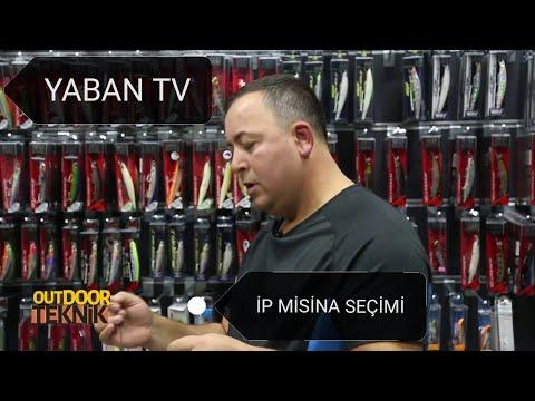 SPİN AVCILIĞINDA İP MİSİNA SEÇİMİ (yaban tv çekimi)