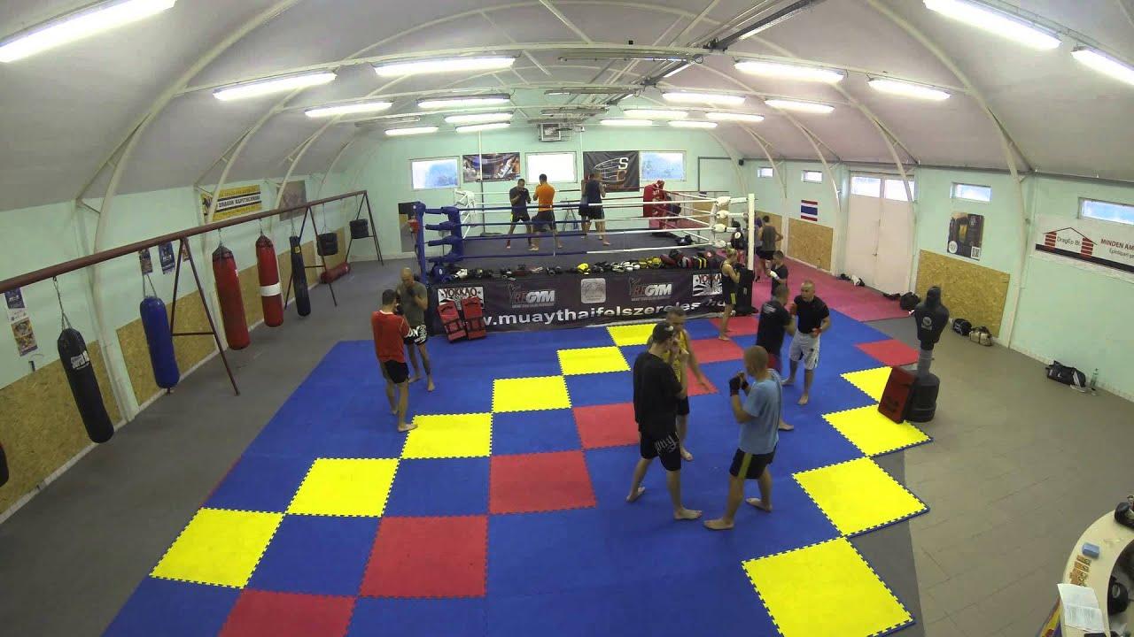 Cross Training - K1 edzés - MMA, Muay Thai