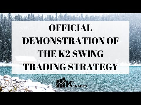 K2 TRADES - Official Demonstration Of The K2 Swing Trading Strategy