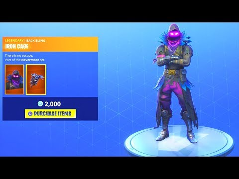 new item shop update 5 30 raven is back fortnite battle royale - raven coming back fortnite