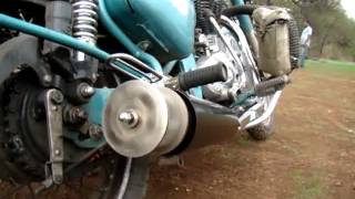 TAILGUNNER ON A ROYAL ENFIELD CLASSIC 500