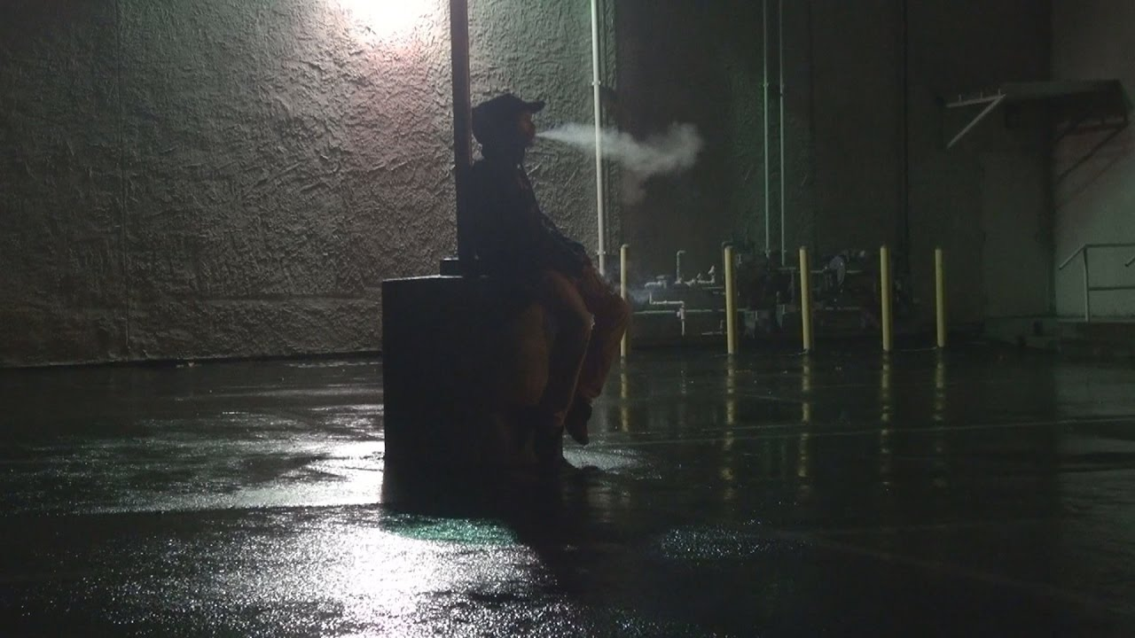 Smoking Weed All Day IN THE RAIN!!