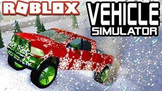 WINTER UPDATE in Vehicle Simulator!!   Roblox