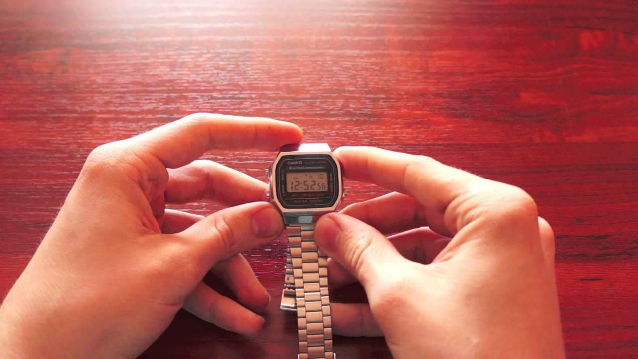 Как укоротить браслет на часах - YouTube