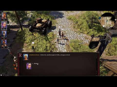 Divinity Original Sin 2 Let's Play Deutsch 038 Shopping in the Town