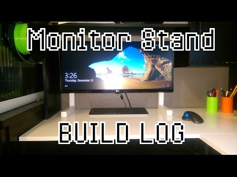 DIY Monitor Stand