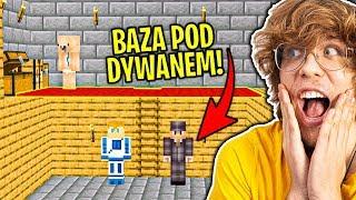 Jak Długo Mogę Żyć POD DYWANEM W Domu Widza Zanim Zauważy? - Minecraft Extreme !