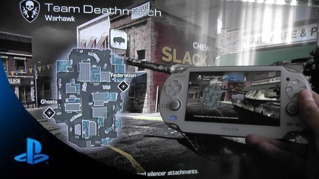Playstation Vita Call Of Duty : Ps vita call of duty ghost online multiplayer gameplay