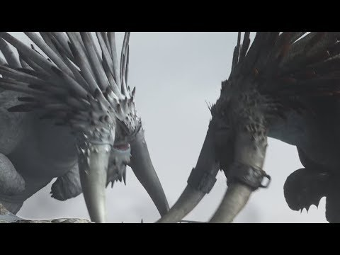 How to Train Your Dragon 2 (2014) - Alpha Battle Scene