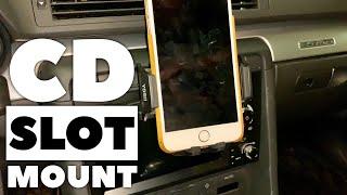 YOSH CD Slot Phone Mount Review