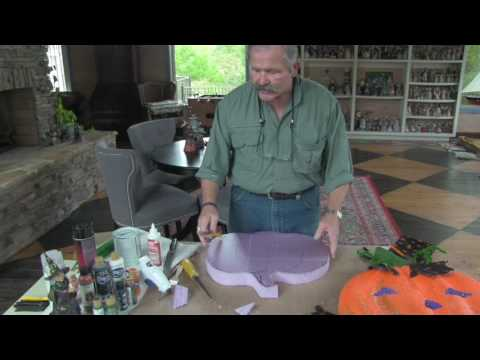 Halloween Decorating DIY Pumpkin - Jim Shore Circle of Friends
