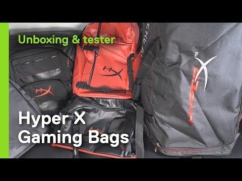 HyperX Scout gaming ryggsekk (sort) Gaming og E sport