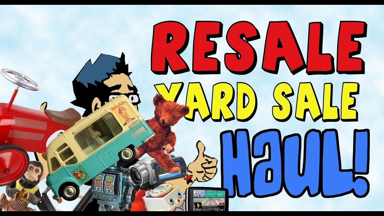 Sunday Yard Sale Thrift Store Craigslist HAUL Part 1 ...