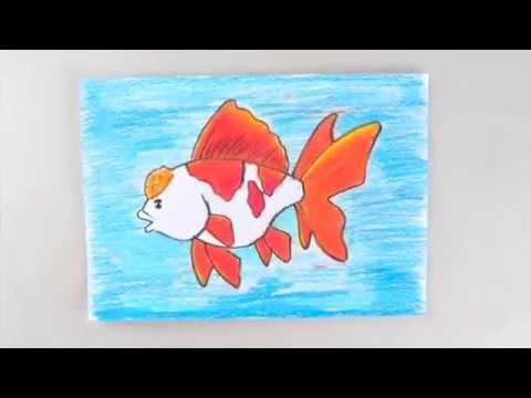 Cara Cepat Menggambar Ikan How To Draw Fish Youtube