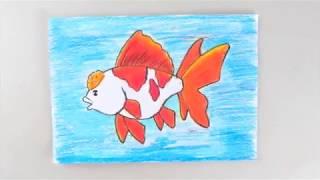 Cara Cepat Menggambar Ikan [How To Draw Fish]