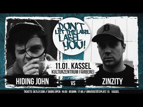 Hiding John vs ZinZity // DLTLLY RapBattle (Kassel) // 2020