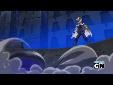 Beyblade Metal Fury Episode 35 - The Lost Kingdom/Nemesis VS L-Drago (English Dubbed Part 2)