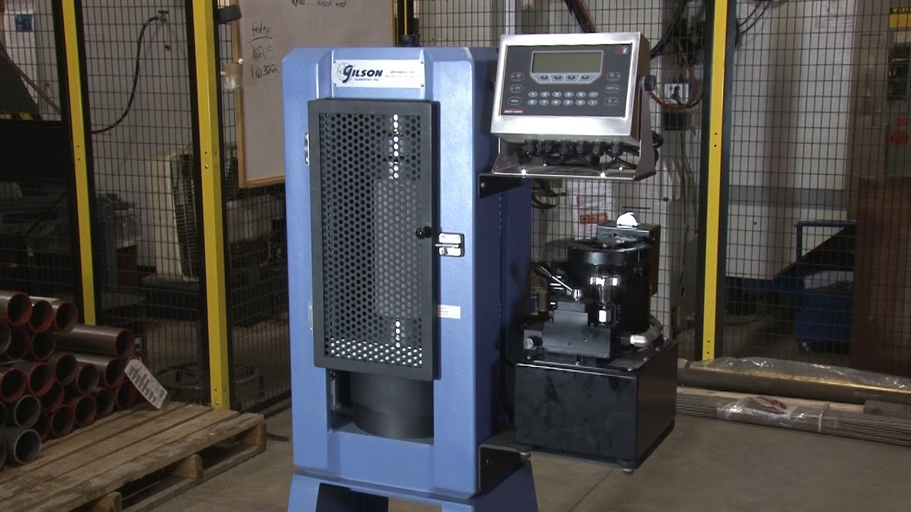Gilson Concrete Compression Testing Machines (MC-250, 300, 400, 500)