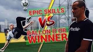 Crazy skills vs ballon d'or winner / rivaldo !
