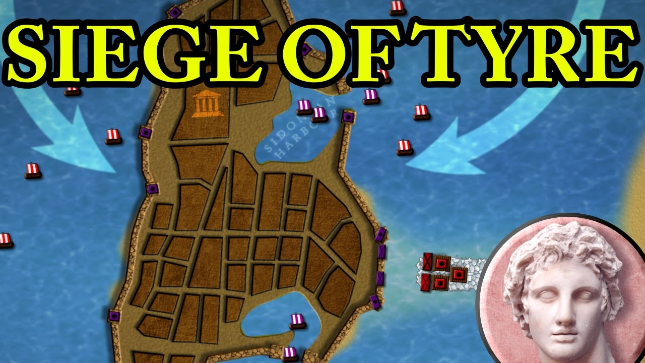 Download The Siege of Tyre 332 BC