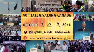 Jalsa Salana Canada 2016