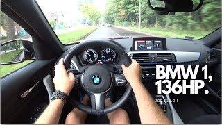 BMW 1 (118i 136 HP) 4K |  POV Test Drive
