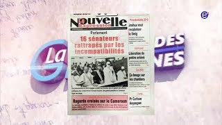 LA REVUE DES GRANDES UNES EQUINOXE TV DU JEUDI 03 MAI 2018