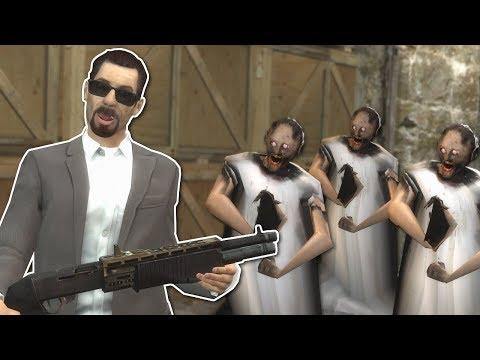 GRANNY ZOMBIE APOCALYPSE SURVIVAL? - Garrys Mod Gameplay - Gmod Zombie Survival