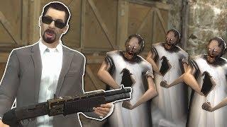 GRANNY ZOMBIE APOCALYPSE SURVIVAL? - Garry's Mod Gameplay - Gmod Zombie Survival