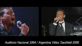 Luis Miguel. Dos versiones de la canción Hasta que me olvides