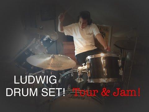 MY NEW DRUM SET! (Tour & Jam)