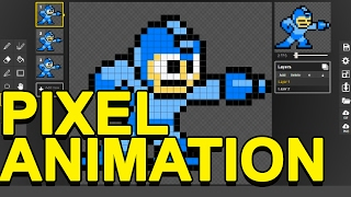 HOW TO MAKE PIXEL ANIMATION for FREE!