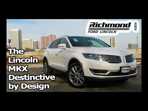 2018 Lincoln MKX Review: Distinctive by Design