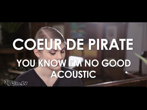 Amy Winehouse - You Know I'm No Good (Cœur de pirate Cover) -  Acoustic [ Live in Paris ]