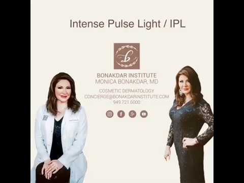 Monica Bonakdar MD Performs an IPL Treatment for Sun Damaged Skin
