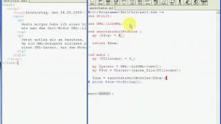 Verarbeitung eines XML-Dokuments mit der Perl-Bibliothek XML::LibXML (Teil 2)