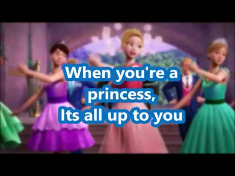 Barbie™ in Rock'n Royals - When You're a Princess - Karaoke