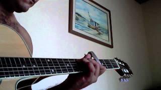 testando novo violão strinberg
