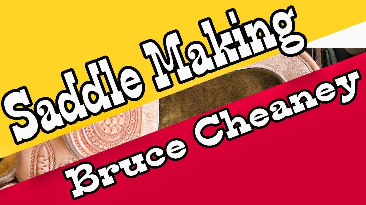 Saddle Making - Finishing a Will James Saddle - Saddlemakers Secrets -  Bruce Cheaney Custom Saddles