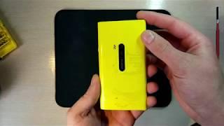 Замена тачскрина Nokia lumia 920/Nokia lumia 920 touchscreen replacement