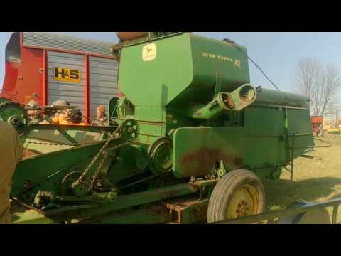 John Deere 42 Combine Sold for Record Price on FFA Auction in Ohio