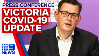 Coronavirus: Victoria Premier announces 300 new COVID-19 cases | 9 News Australia