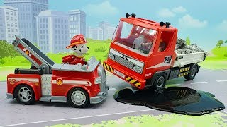 Мультики Щенячий Патруль и машинки   видео для детей с игрушками Щенячий Патруль   Ученик